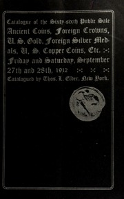 Catalogue of the sixty-sixth public sale. [09/27/1912]