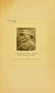 Catalogue of the splendid collection of cents, half cents, &c. formed by William Riddle ... [05/24/1882]