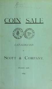 Catalogue of United States and foreign gold, silver and copper coins ... [12/15/1879]
