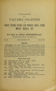 Catalogue of a Valuable Collection, No. 39