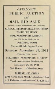 Catalogue public auction and mail bid sale ... [11/29/1941]