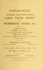 Catalogue : public auction sale. [04/04/1924]