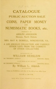 Catalogue : public auction sale. [10/26/1923]