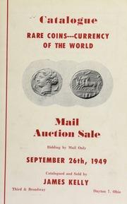 Catalogue : rare coins ... [09/26/1949]