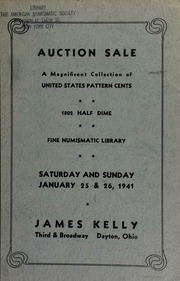 Catalogue : United States silver, copper and gold coins ... [01/25-26/1941]