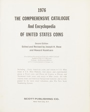 1976 The Comprehensive Catalogue and Encyclopedia of United States Coins, 2nd Edition