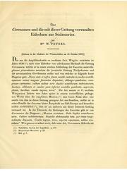 Vol 1862: andUuml;ber Cercosaura und die mit dieser Gattung verwandten Eidechsen aus Sanduuml;damerika