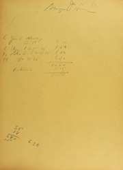 C.E. Hussman Invoices from B.G. Johnson, January 15, 1940, to April 12, 1940