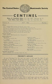 The Centinel, vol. 10, no. 1