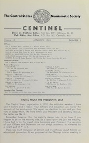The Centinel, vol. 10, no. 3