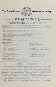 The Centinel, vol. 10, no. 4