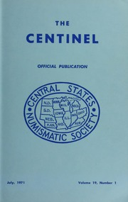 The Centinel, vol. 19, no. 1