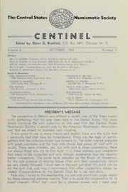 The Centinel, vol. 8, no. 1