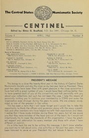 The Centinel, vol. 9, no. 4