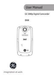 ge - camcorder - DVX - User Manual : Free Download, Borrow, and ...