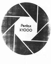 pentax - camera - K-1000 - Service Manual : Free Download, Borrow ...