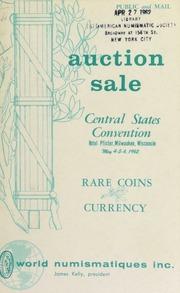 Central States convention auction sale ... [05/04-06/1962]