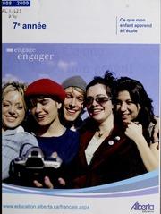 Vol 2008-2009: Ce que mon enfant apprend lcole : manuel lintention des parents. Septime anne