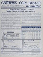 Certified Coin Dealer Newsletter: 2000