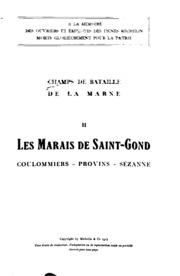 Champs de bataille de la Marne
