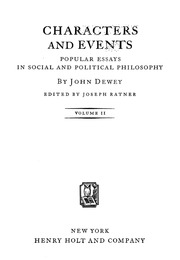 social and political philosophy essays