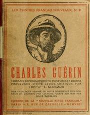Charles Guérin; vingt-six reproductions de peintures et dessins précédées dune étude critique