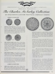 Charles McSorley Collection of Nineteenth Century Political Campaign Tokens