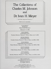 The Charles M. Johnson and Dr. Ivan H. Meyer Collections