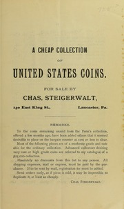 A Cheap Collection of United States Coins