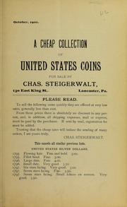 A Cheap Collection of United States Coins, No. 61C