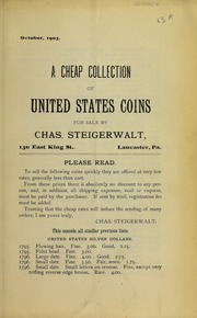 A Cheap Collection of United States Coins, No. 63A