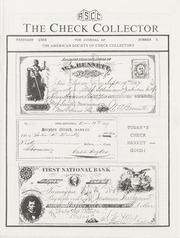 The Check Collector: February 1988, No. 5