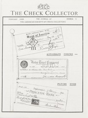 The Check Collector: February 1989, No. 9