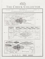 The Check Collector: November 1990, No. 16