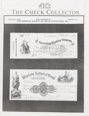 The Check Collector: November 1992, No. 24