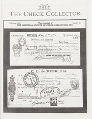 The Check Collector: February 1993, No. 25