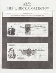 The Check Collector: August 1993, No. 26