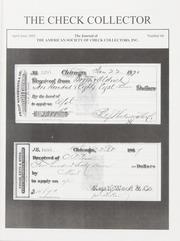 The Check Collector: April-June 2003, No. 66