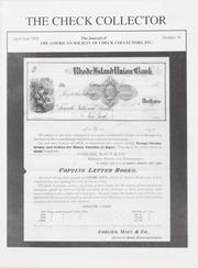 The Check Collector: April-June 2004, No. 70