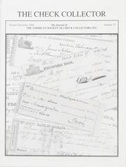 The Check Collector: October-December 2004, No. 72