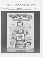 The Check Collector: January-March 2005, No. 73