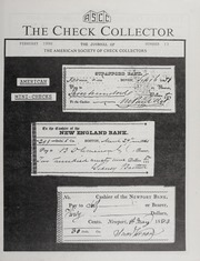 The Check Collector: February 1990, No. 13