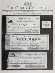 The Check Collector: May 1989, No. 10