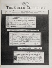 The Check Collector: May 1990, No. 14