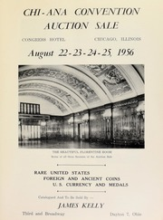 Chi - ANA convention auction sale. [08/22-25/1956]