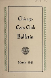 Chicago Coin Club Bulletin: 1941