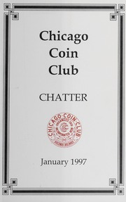 Chicago Coin Club Chatter: 1997