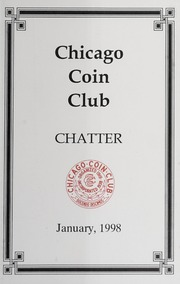 Chicago Coin Club Chatter: 1998