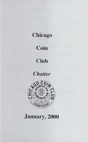 Chicago Coin Club Chatter: 2000
