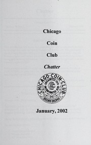 Chicago Coin Club Chatter: 2002